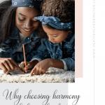 harmony over balance