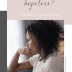 Woman Feel Hopeless